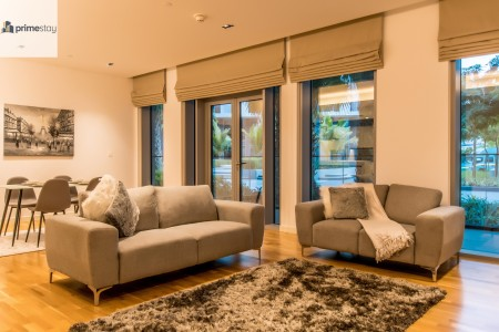Luxurious and cozy 1BR in Bluewaters