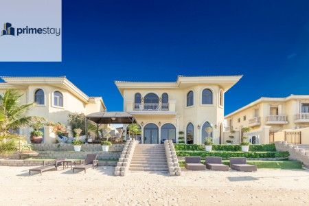 Stylish 5BR Villa with Private Beach Access
